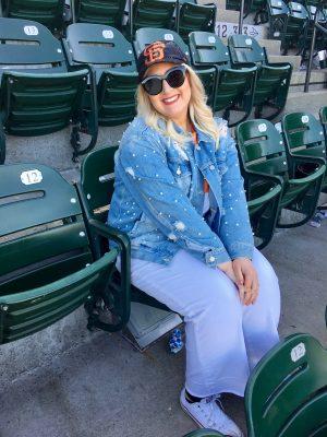 Jacqueline at ATT Park San Francisco