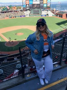Jacqueline at ATT Park San Francisco