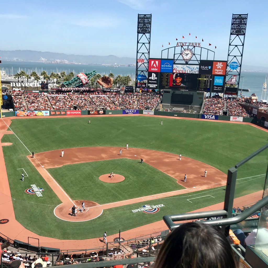 ATT Park from section 313