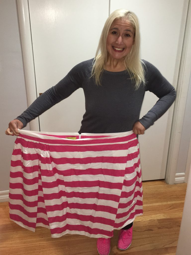pink-striped-skirt-after