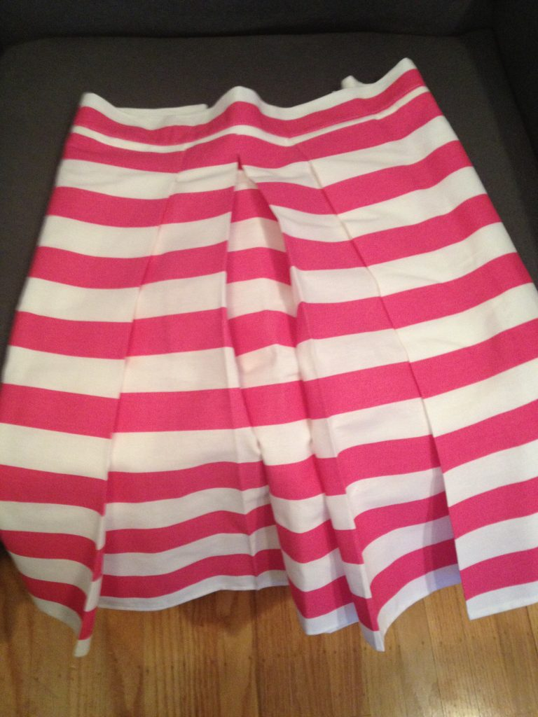 pink-striped-skirt