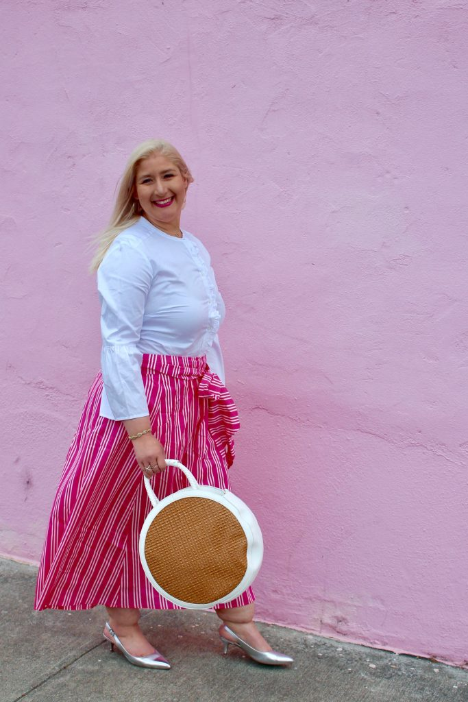 Jacqueline-pink-skirt