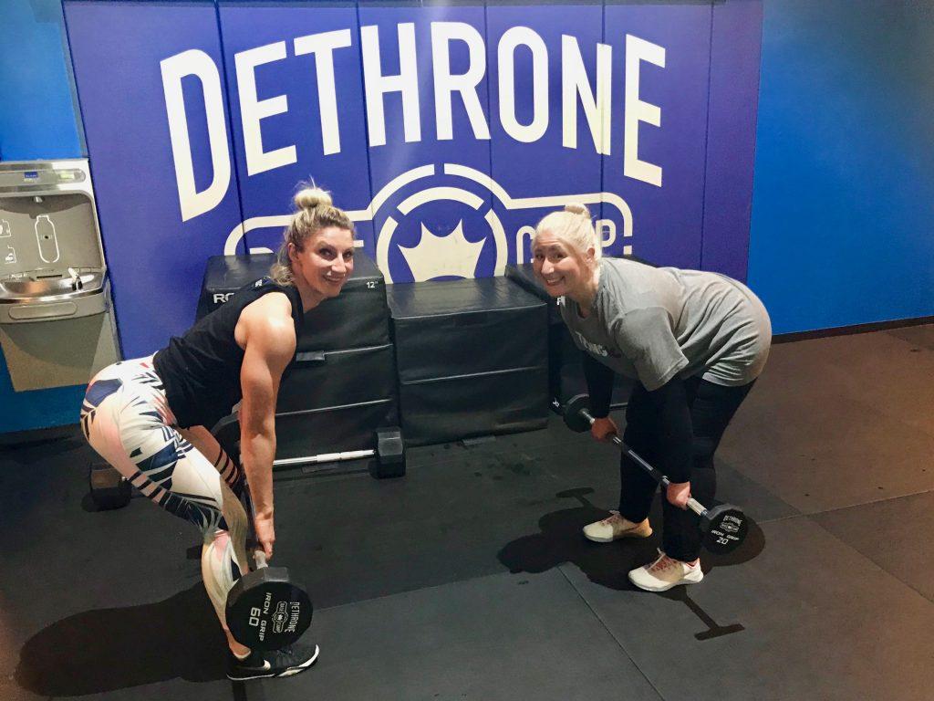 Q&A Helene & Jacqueline deadlift