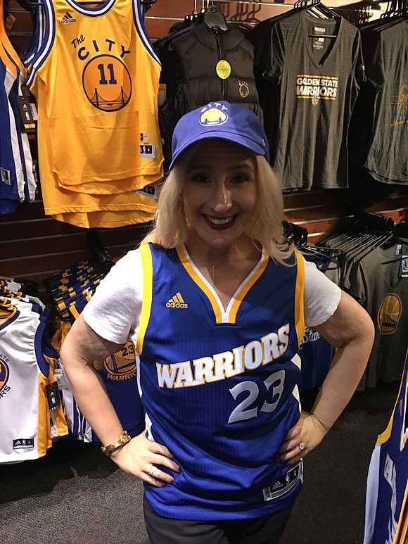about me Jacqueline golden state warriors