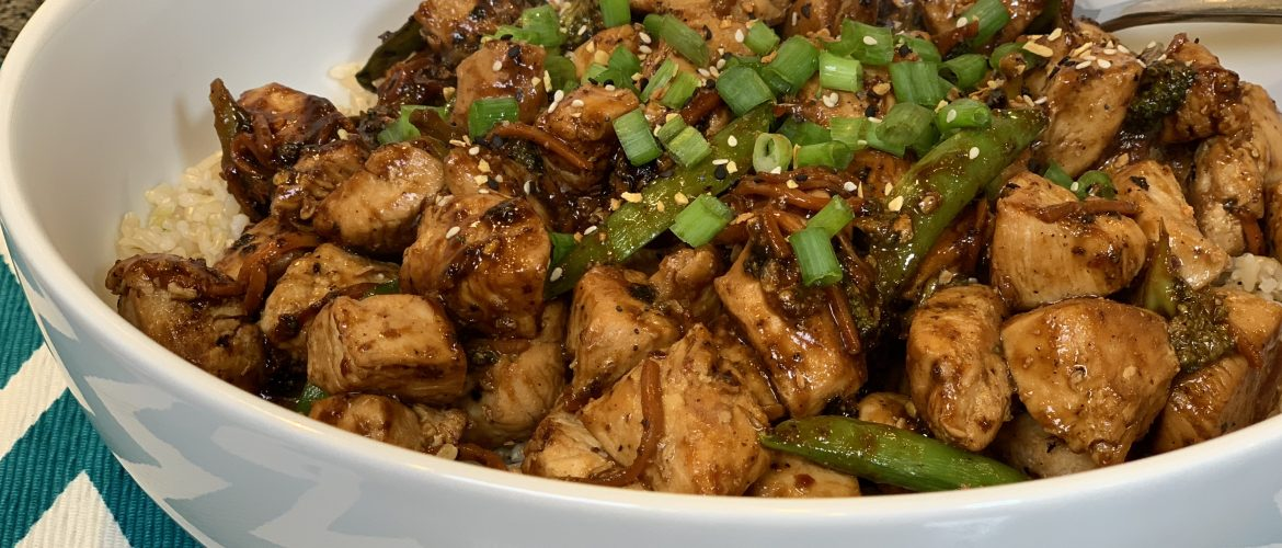 General Tso's Chicken and Vegetables