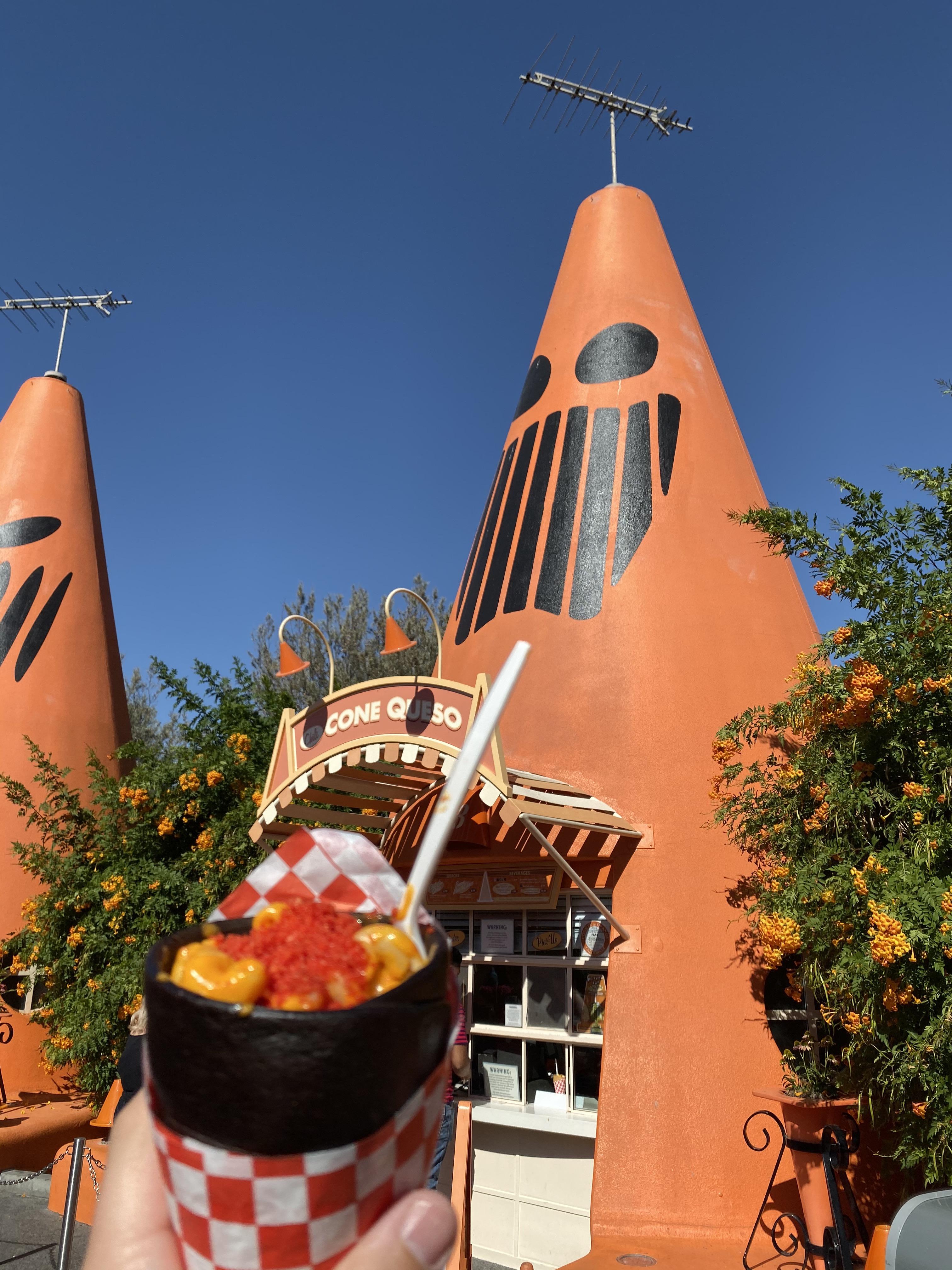 Disneyland Slow Burnin' Mac and Cheese Cone
