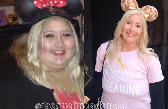 jacqueline before and after minnie ears disney food blog