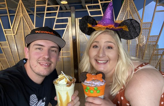 jacqueline and kevin Disney halloween treats 2019