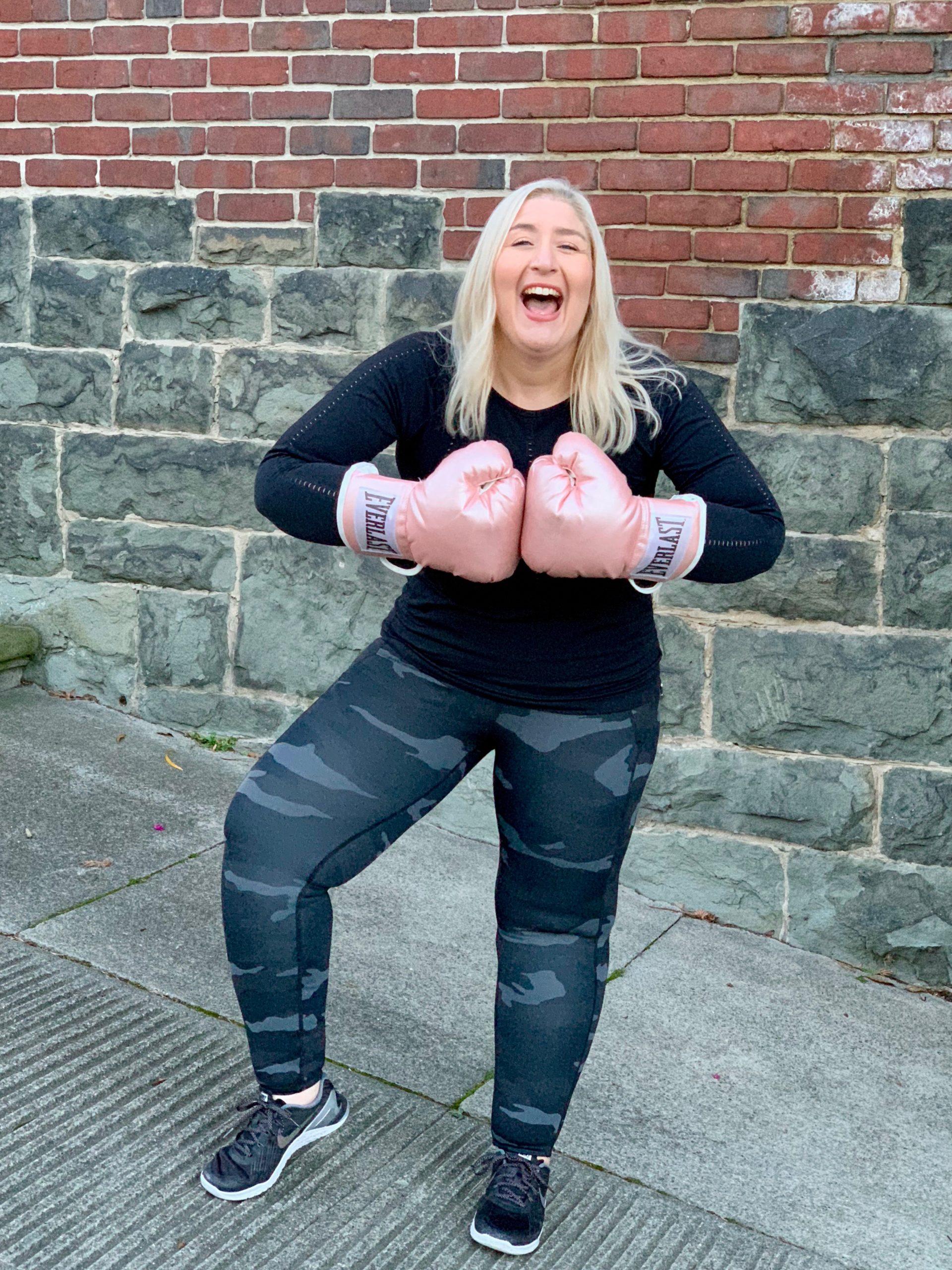 Jacqueline Adan Boxing Gloves