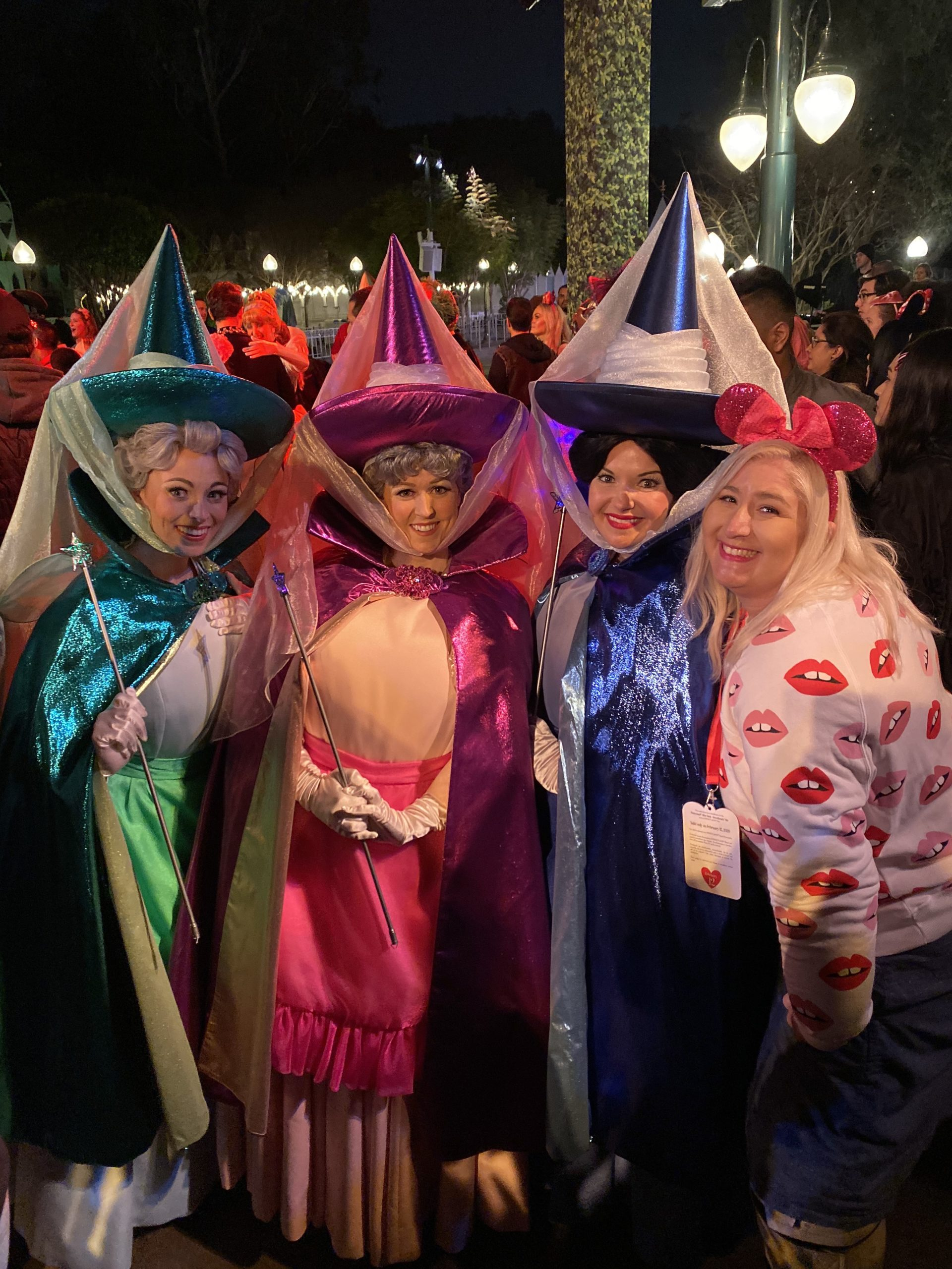 Disneyland After Dark Sweethearts Nite Good Fairies