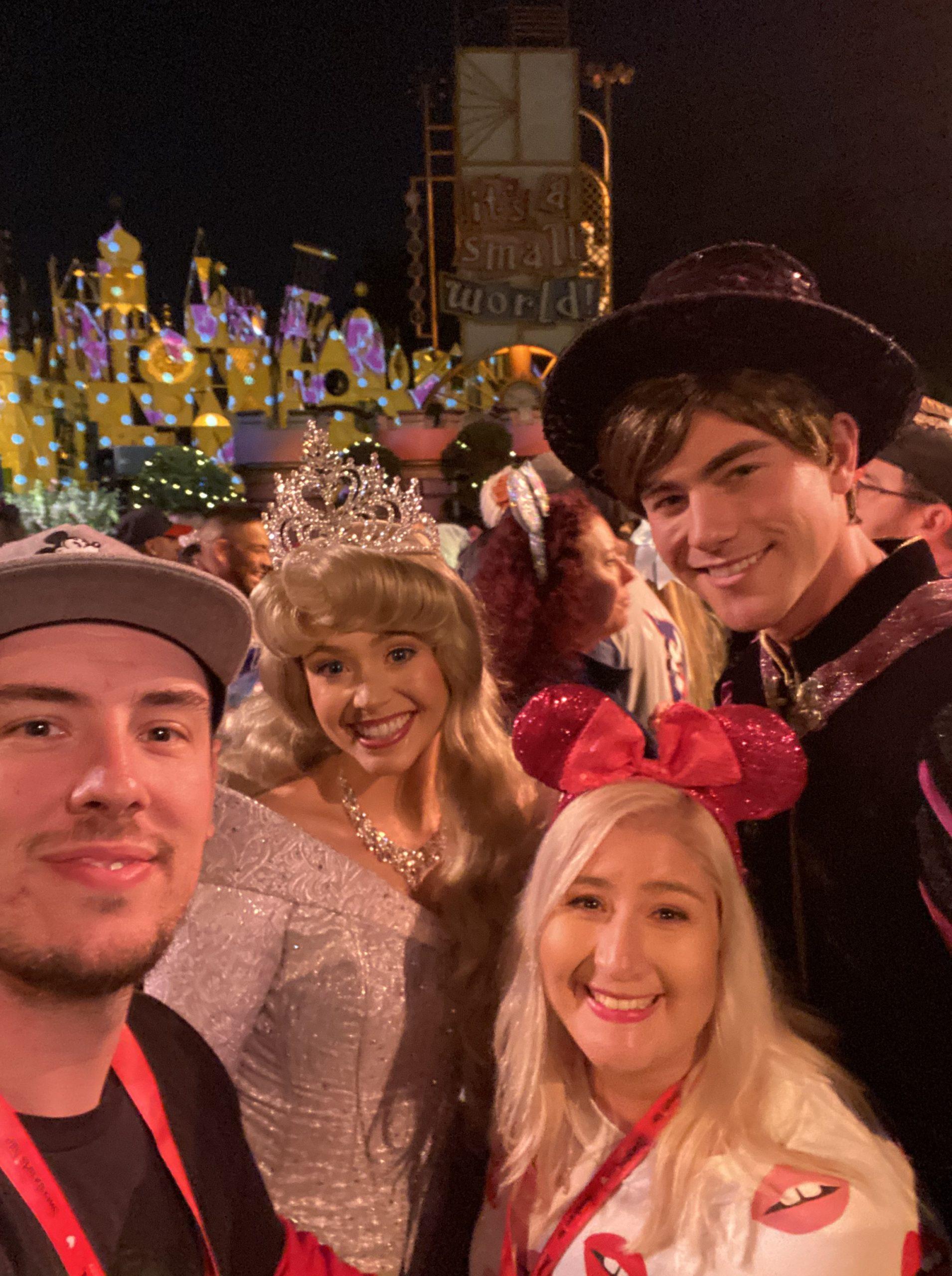 Disneyland After Dark Sweethearts Nite Aurora and Phillip