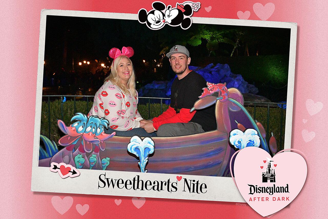 Sweethearts Nite Little Mermaid Photo Op