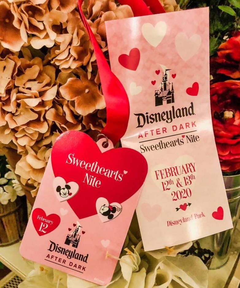 Disneyland after dark sweethearts nite 2020