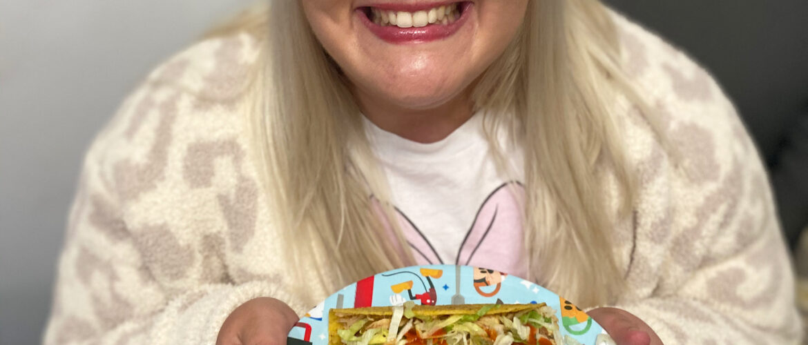Jacqueline With tacos