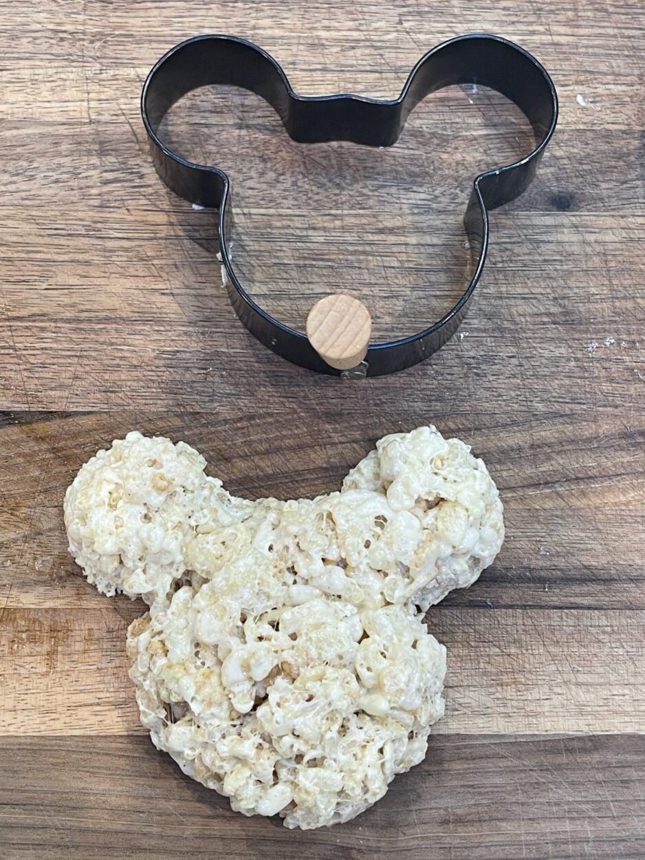 Mickey Rice Krispy Treat and Cutter
